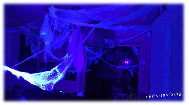 Halloween Schwarzlicht-Deko