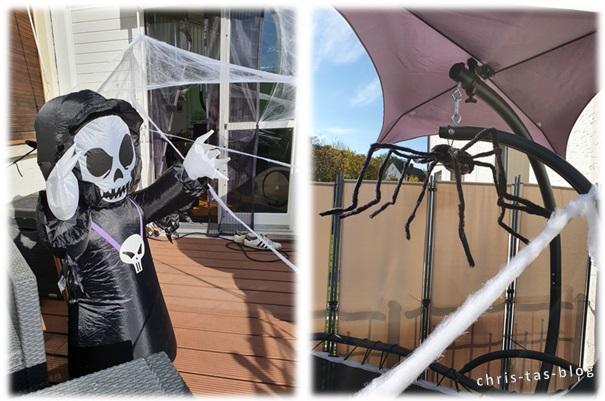 Halloween-Deko für Houseparty