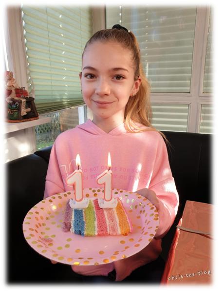 Regenbogen Torte Drip Cake Birthday cake
