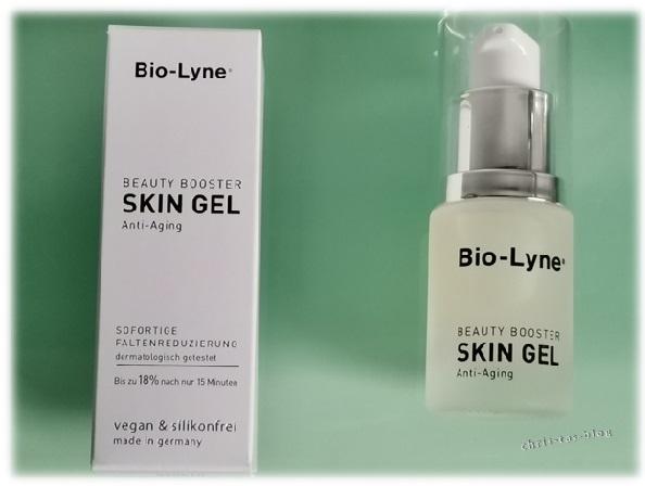Verpackung Bio-Lyne Beauty Booster Skin Gel Anti-Aging