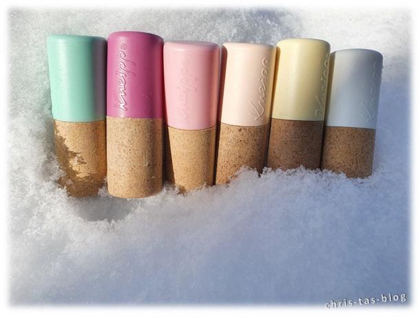 Lippenpflege besonders im Winter wichtig: Kneipp Lippenpflege Produkte