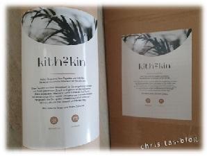 kith2kin Designer Foto Tapeten - mein Paket kam an