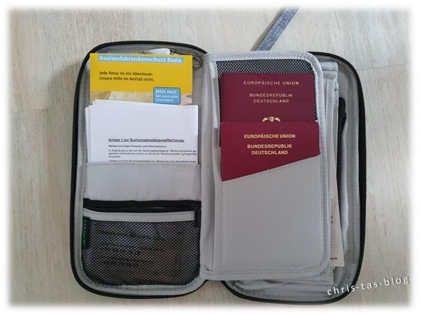 Tasche für Reiseunterlagen