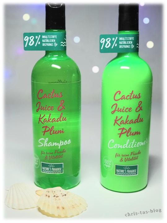 Shampoo & Conditioner Cctus Juice & Kakadu Plum