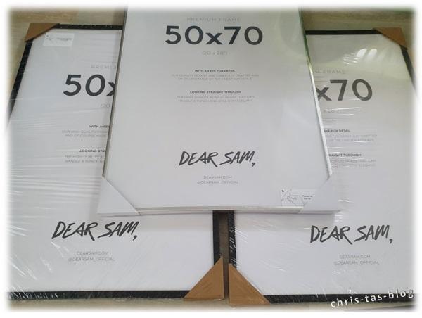 Poster und Bilderrahmen Dear Sam