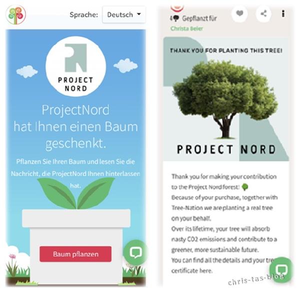Project Nord pflanzt für jedes verkaufte Poster einen Baum