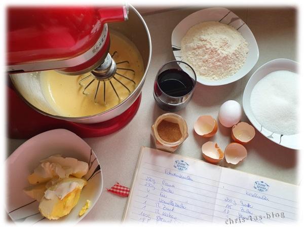 Zutaten Rotweinkuchen nach Oma´s Art