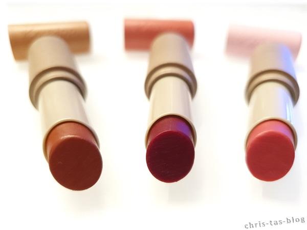 Die neuen, farbigen Lippenpflegestifte von Kneipp