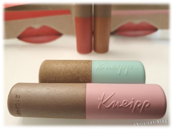 veränderte Lippenpflege von Kneipp