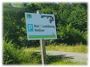 Parkplatz NatURwaldweg Wolfsee