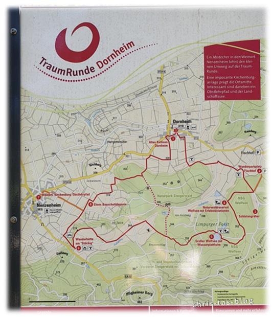 TraumRunde Dornheim Gesamtkarte