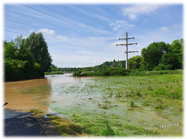 Jahrhunderthochwasser Neustadt Aisch 2021