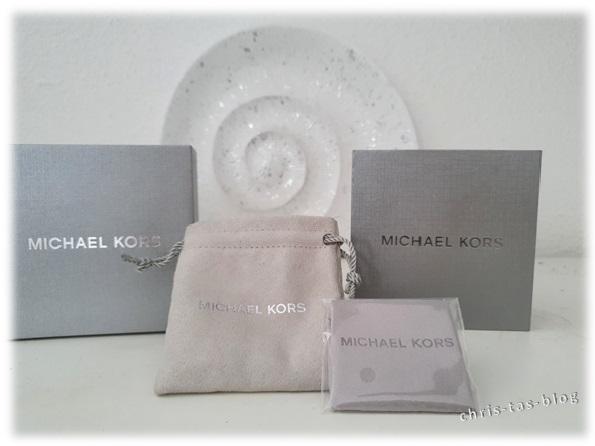 Schmuckbox Verpackung Michael Kors Schmuck