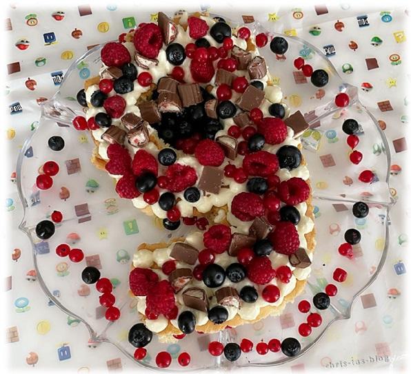 Numbercake Lettercake 9. Geburtstag