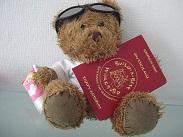 Bloggi und sein Reisepass