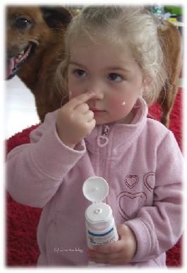 Virginia testet Anthelios Dermo-Kids Sonnenschutzcreme 50+