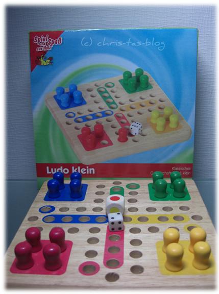 Brettspiel Ludo klein von Alina-Spielzeug