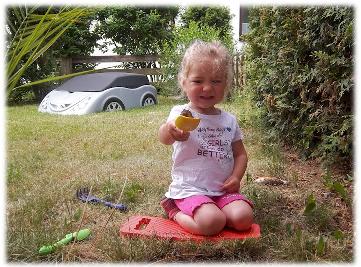 Virginia die kleine Gärtnerin