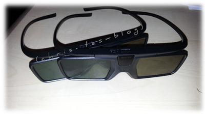 3D Shutter Brillen zum Philips 8100 Serie