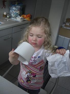 Virginia testet den Ratz-Fatz-Kinderkuchen