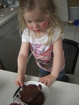 So sieht der fertige Ratz-Fatz-Kuchen aus