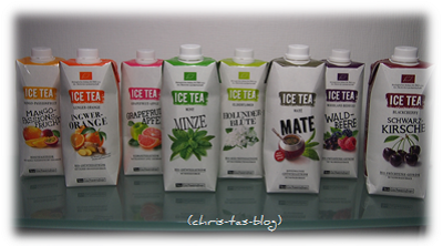 8 neue Sorten Ice Tea