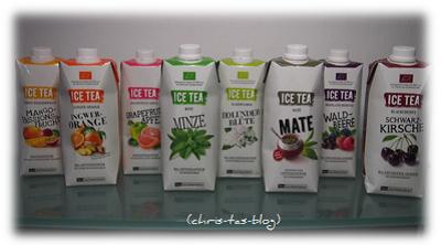 8 neue Sorten Ice Tea