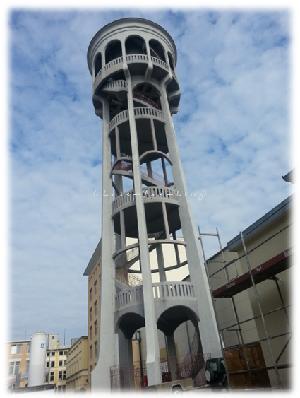 Alter Wasserturm im Maggi Werk Singen