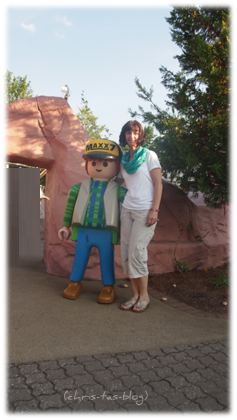 Auch ich hatte Spaß im Playmobil Park