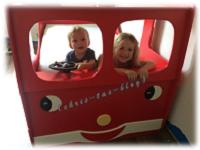 Auch meine Enkelkinder haben ein Themenbett - Feuerwehrbett