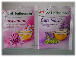 Bad Heilbrunner Tee Entspannung und Gute Nacht
