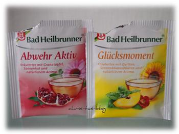 Bad Heilbrunner Tee Glücksmoment und Abwehr Aktiv