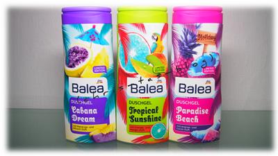Ich verlose 3x Balea Limited Edition Duschgel