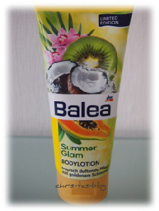 Summer Glam Bodylotion von Balea