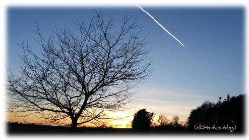 Sunset in Mittelfranken