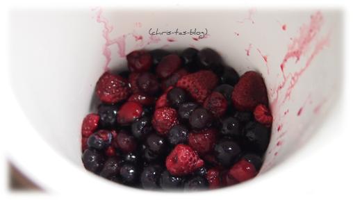 Beerenfrüchte für Fruchtaufstrich