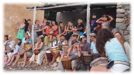 Trommer-session Benirrás Ibiza