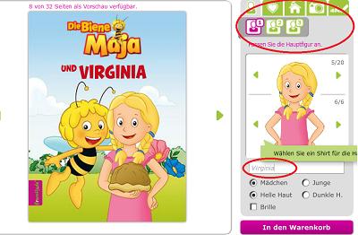 Biene Maja Kinderbuch framily.de