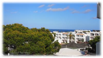 Blick auf die weiteren Hotelanlagen