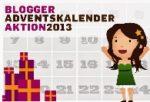 Adventskalender 2013 – Bloggeraktion – Ich bin auch dabei