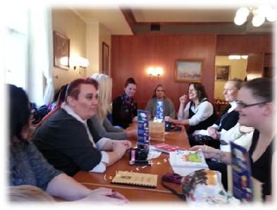 Bloggertreffen im Cafe