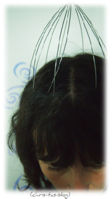 Bokoma Kopfmassagegerät im Einsatz