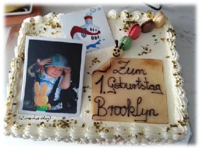 Brooklyns Geburtstagstorte