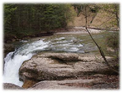 Buchenegger Wasserfälle bei Steibis