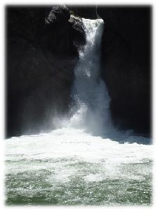 Buchenegger Wasserfälle - Unterer Wasserfall