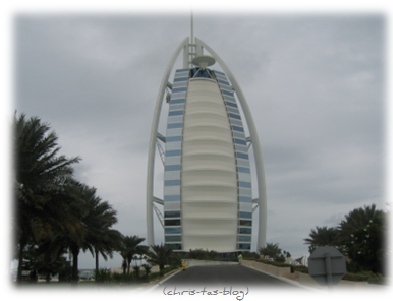 Burj Al Arab in Dubai
