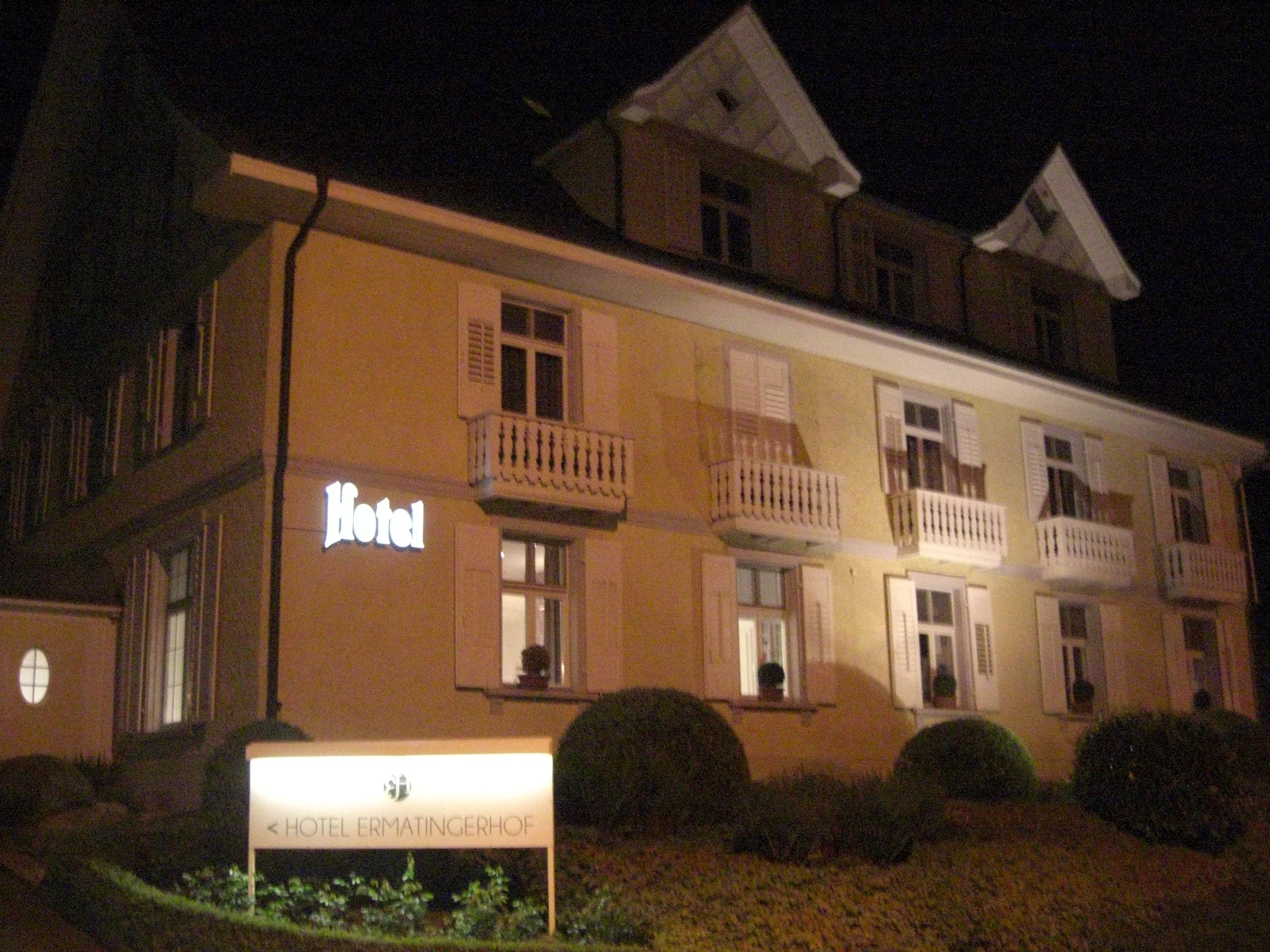 Hotel Ermatinger Hof in der Schweiz am Bodensee
