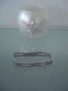 mein neues Edelstahl-Armband von bijouteria.com