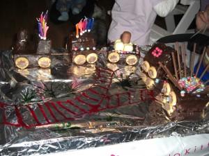 Virginias Geburtstagskuchen zum 2. Geburtstag