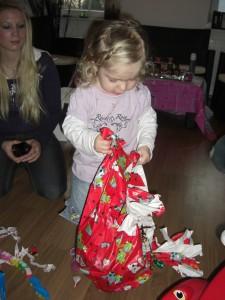 Geschenke zu Virginias 2. Geburtstag